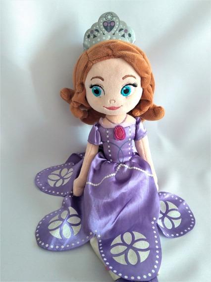 Boneca Plush Pelúcia Princesa Sofia Original Disney Store