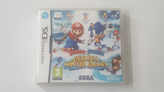 Mario E Sonic At The Olympic Winter Games - Ds - Original