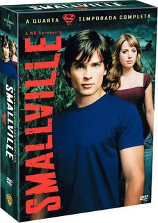 Box Dvd Smallville - 4ª Temporada Novo E Lacrado!