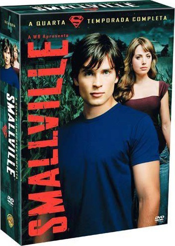 Box Dvd Smallville - 4ª Temporada Novo E Lacrado!