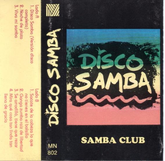 Samba Club - Disco Samba - Cassette Original Musimundo
