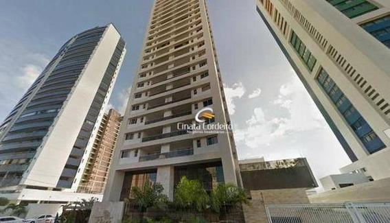 Apartamento Com 3 Dormitórios Para Alugar, 120 M² Por R$ 3.200/mês - Manaíra - João Pessoa/pb - Ap2455