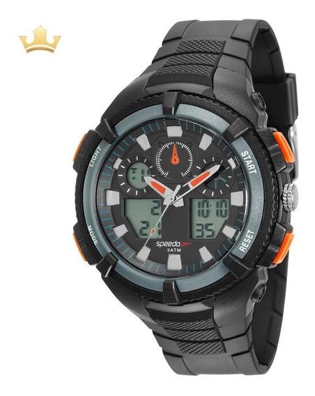 Relógio Speedo Masculino 81159g0evnp1 Com Nf