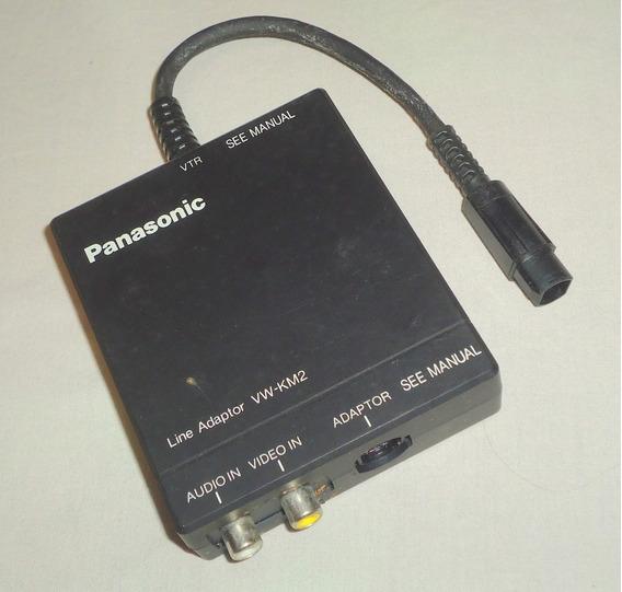 Adaptador De Linha Panasonic Vw Km2px Vtr Áudio Vídeo