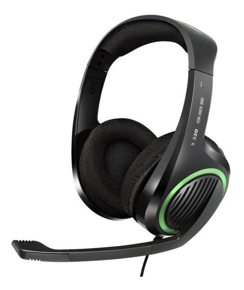 Headset X320 Sennheiser Cabo 4m Xbox 360 Novo