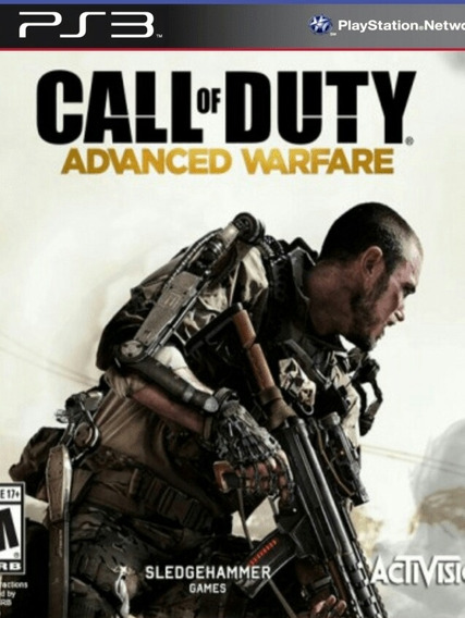 Call Of Duty Advanced Warfare Ps3 Jogo Português Brasil