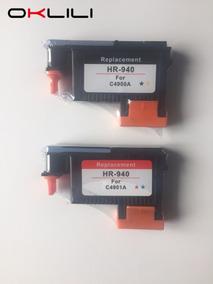 2 Cabeça Impressão C4900a C4901a Hp 940 Pro 8000 8500