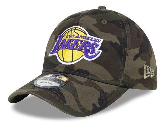 Gorra Lakers 4788, Ajustable, 831417, Camuflaje, Los Angeles