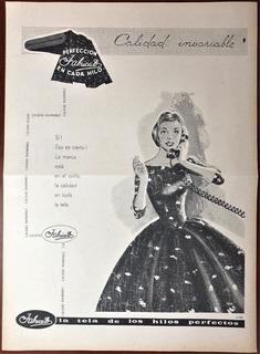 Fabricato Antiguo Aviso Publicitario De 1961