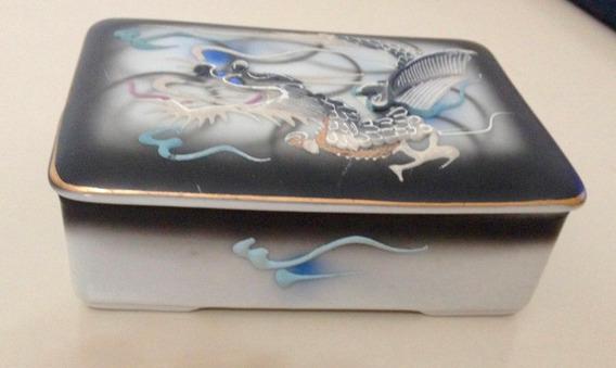Caixa Jóias Porcelana Fina Importada Japão