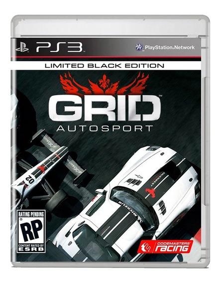 Grid Autosport Ps3 Midia Fisica Pronta Entrega