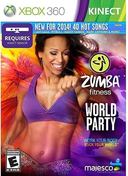 Zumba Fitness World Party (mídia Física Original) - Xbox 360