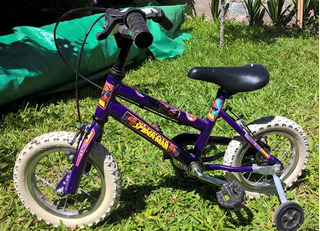 Bicicleta Infantil Rodado. 12 - Spiderman -