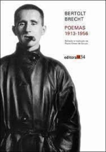 Livro Poemas 1913 - 1956 Bertolt Brecht