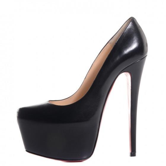 Sapato Feminino De Grife Famosa Sola Vermelha 34 36 37 38