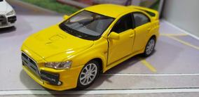 Mitsubishi Lancer Evolution X 1:36 Kinsmart Cores Diversas
