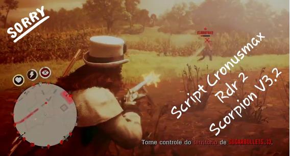Script Cronusmax Red Dead Redemption 2 - Scorpion 3.2 Rdr2