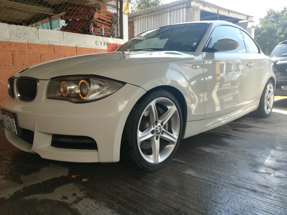 Bmw 135i 6 Cil 2009 Blanco Coupe,interiores Cafe