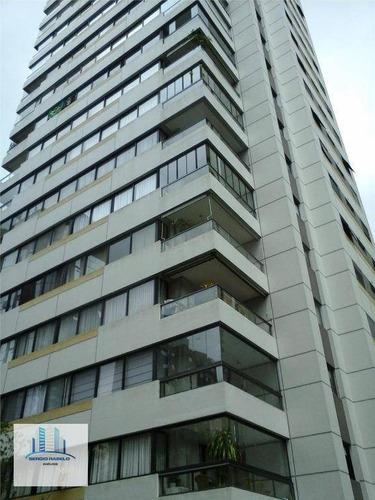 Imagem 1 de 30 de Apartamento Com 3 Dormitórios, 170 M² - Venda Por R$ 2.300.000,00 Ou Aluguel Por R$ 6.000,00/mês - Moema - São Paulo/sp - Ap3858