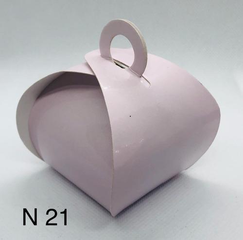 Imagem 1 de 11 de 60 Caixinhas Para Bem Casado Lembrancinha Cor Rosa Claro