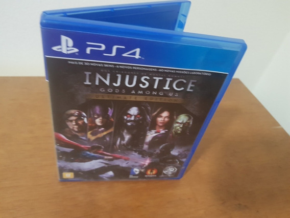 Injustice Gods Among Us Ultimate Edition Usado Ps4