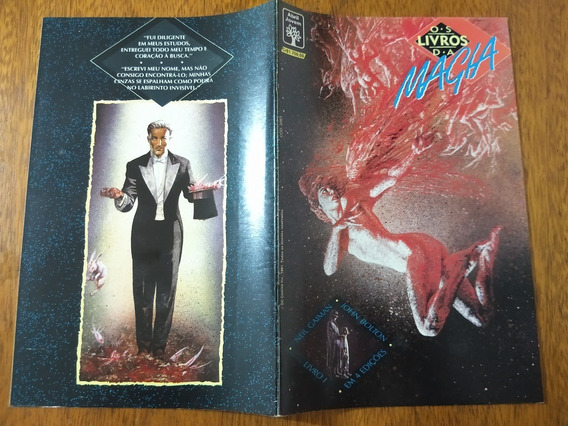 Hq, Os Livros Da Magia Nº 1 - Da Mini-série De 4 - Abril