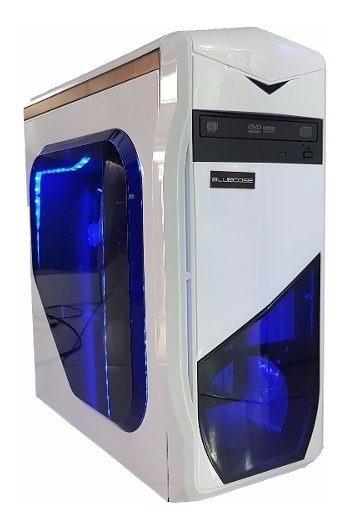 Cpu Gamer Asus/ Core I5/ 4gb/ 1tb/ Hdmi/ Wi-fi/ Led Gabinete