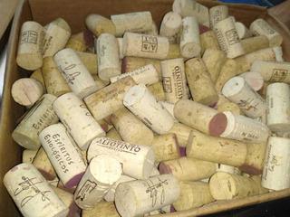 500 Pz Corchos Usados De Botellas De Vino