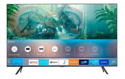 Tv Samsung 43 Pulgadas 108 Cm 43tu8000 Led 4k-uhd Plano Smar