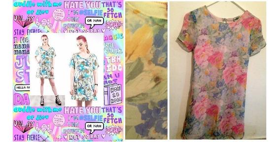 Vestidos Pastel Floreados Vintage De 90s Para Chicas / Mujer