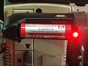 Carregador De Bateria Narguile Eletronica + 4 Bateria Brinde