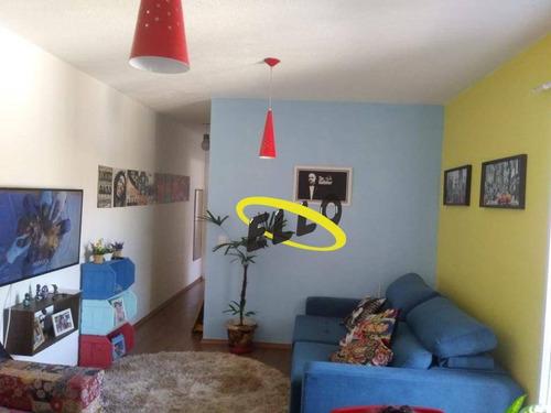 Apartamento Com 2 Dormitórios À Venda, 62 M² - Jardim Petrópolis - Cotia/sp - Ap1822