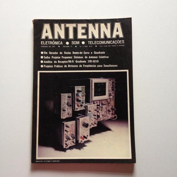 Revista Antenna Nº 01 Janeiro De 1977