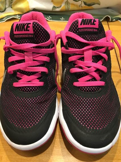 Nike Air Niña Eur35,5 Fucsia/negro