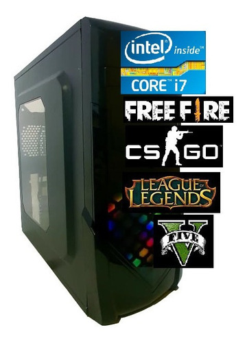 Imagem 1 de 4 de Pc Gamer Intel Core I7 3.9ghz 8gb Ssd 240gb