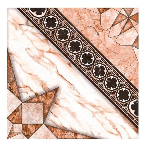 Imagen 1 de 7 de Piso Ceramico 1° Cal 33x33 Cadiz Rosa Brillante San Lorenzo