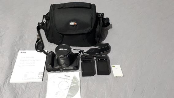 Camera Nikon Coolpix P520 18.1 Com Zoom 42x