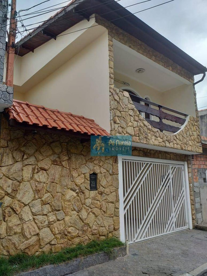 Casa Com 4 Dormitórios À Venda, 94 M² Por R$ 500.000 - Residencial Parque Cumbica - Guarulhos/sp-p4g94so - Ca0105