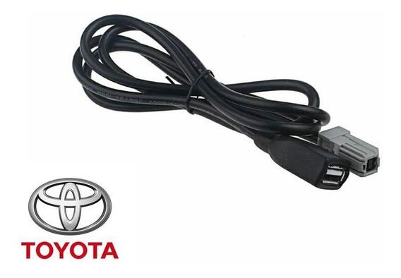 Cabo Adaptador Usb Toyota Corolla Camry Rv4 Interface 2012