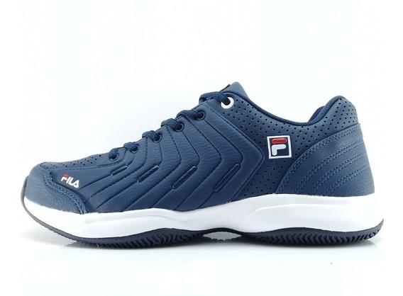 Zapatillas Fila Lugano 5.0 Azul M Envios Caba Y Bs As