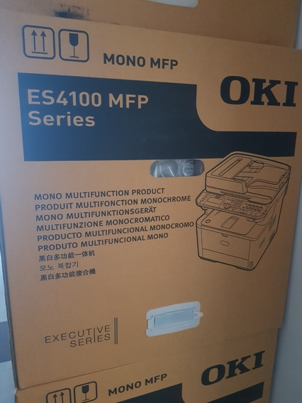 Multifuncional Mono Oki Es4172lp Mfp Na Caixa Garantia Nota