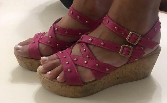 Sandalias Con Plataforma Viamo