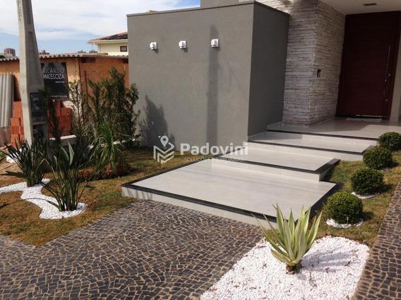 Casa Em Condominio Para Aluguel, 3 Quartos, Vila Aviação - Bauru/sp - 756