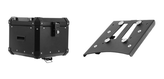 Bau Roncar Top Case 35 Litros + Base Xre300 Xre190 Bros160