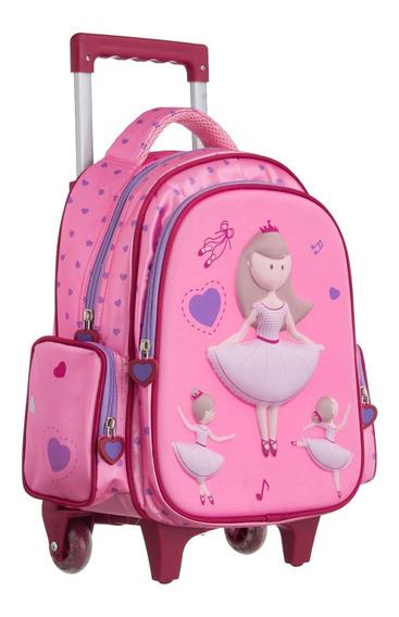 Kit Mochila Infantil Princesa Ou Raposa - Convoy ( Ys42018 )