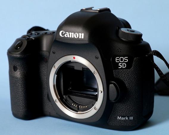 Canon 5d Mark Iii 22,3mp Full Frame Corpo Caixa Desc A Vista