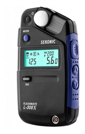 Fotometro Sekonic L-308x Flashmeter - Lançamento
