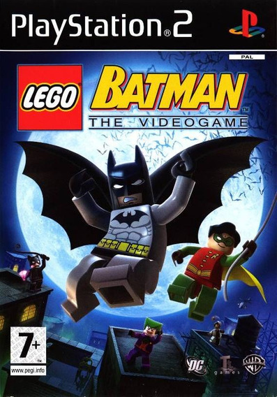 Lego Batman The Videogame Para Playstation 2