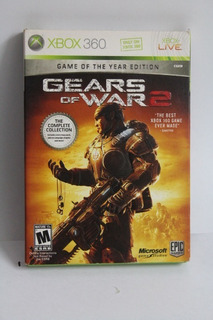 Gears Of War 2 Game Of The Year Edition Xbox 360