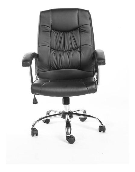 Cadeira De Escritório Presidente Preta - 1658-bk